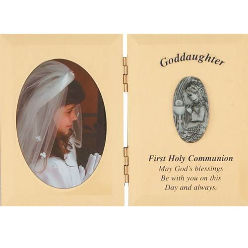 Gold Goddaughter Communion Frame*WHILE SUPPLIES LAST*