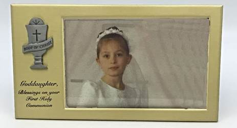Goddaughter First Communion Frame