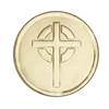 Gold Cross Embossed Seal