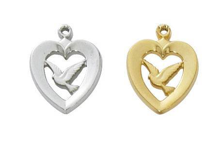 Heart W/ Dove Medal