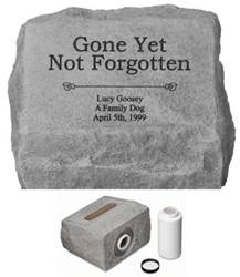 Gone But Not Forgotten Personalized Cremation Urn
