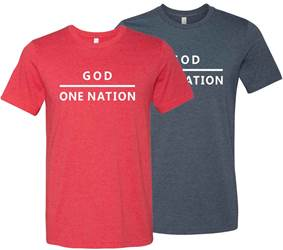 One Nation Under God T Shirt