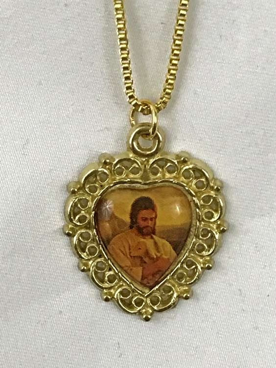 Good Shepherd Heart Necklace