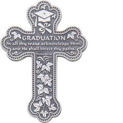 Graduation Pewter Cross