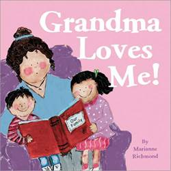 Grandma Loves Me! Board Book