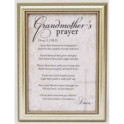 Grandmothers Prayer Poem Frame