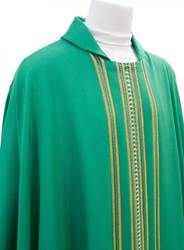 Green Vatican Chasuble