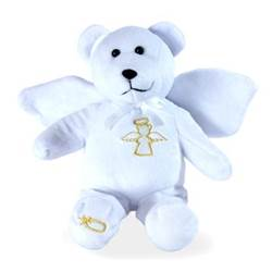 Guardian Angel Holy Bear, White