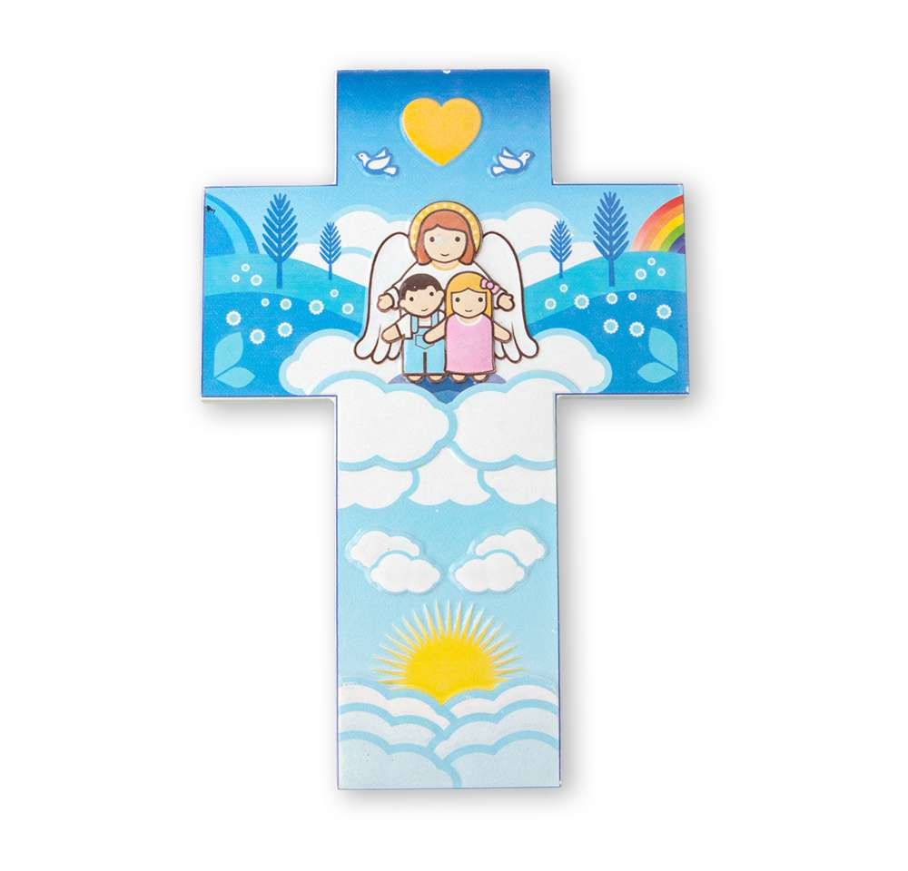 Guardian Angel Wall Cross