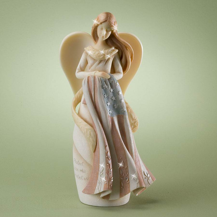 Guardian Angel of Military Figurine guardian angel, military figure, angel statue, protector statue, american military gift, army gift, navy gift, air force gift, marine gift, miliary gift, 4024907
