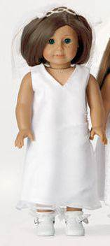 "Hadleigh First Communion 18"" Doll Outfit"