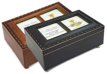 Hallelujah Chorus Personalized First Communion Keepsake Music Boxes
