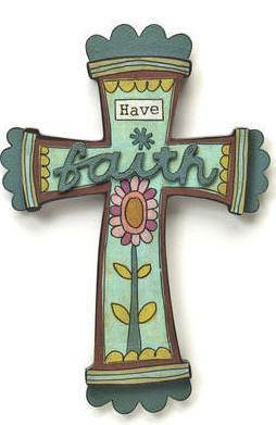 Have Faith Cross wall cross, inspirational cross, faith cross, trendy cross, wall cross, cross gift, wedding gift, sacramental gift, first communion gift, confirmation gift, RCIA gift, reconciliation gift,