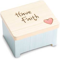 Have Faith Keepsake Box