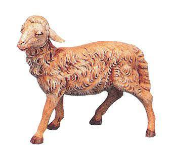 "Head Straight Sheep for 12"" Fontanini Nativity"