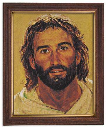 Head of Christ Framed Picture