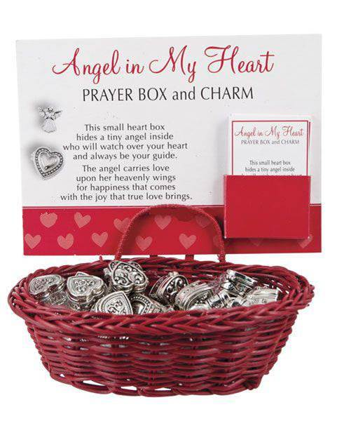 Heart Prayer Box with Charms