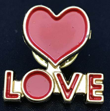 Heart of Love lapel Pin