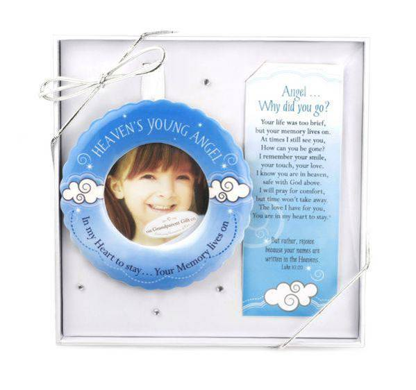 Heaven's Young Angel Boxed Ornament
