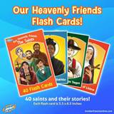 Heavenly Friends Flash Cards