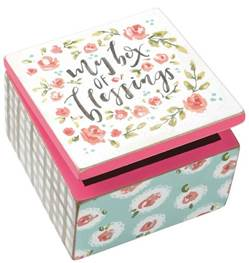 Hinged Box - My Box Of Blessings