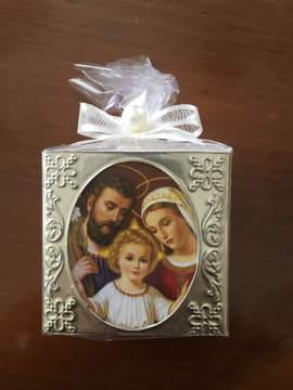 Holy Family Cube Candle