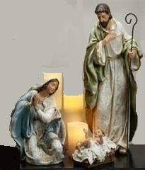 "23"" Holy Family Figure Set Josephs Studio 23"" Nativity Set, large scale nativity set, large nativity, chapel nativity"