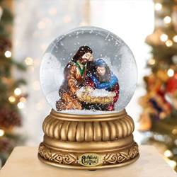 Holy Family Snowglobe