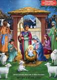 Holy Manger Chocolate Advent Calendar with bible text