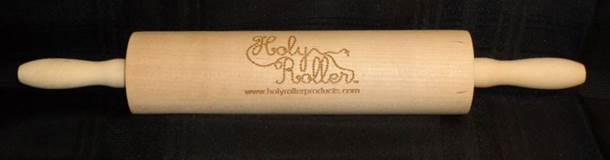 Holy Roller Rolling Pin