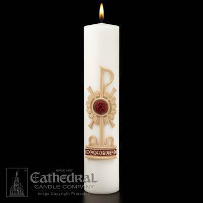 Holy Trinity SCULPTWAX Christ Candle