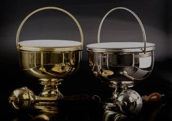 Holy Water Bowl & Aspergil from Germany