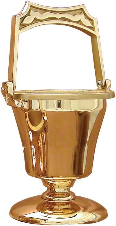 30PS64 Holy Water Bucket with Sprinkler