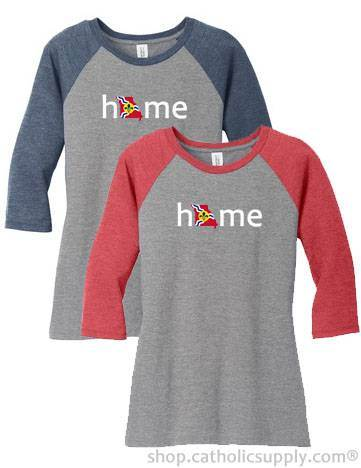 Home 3/4 sleeve T-Shirt