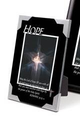 "Hope Verse Picture Plaque 3.5"" x 5"""
