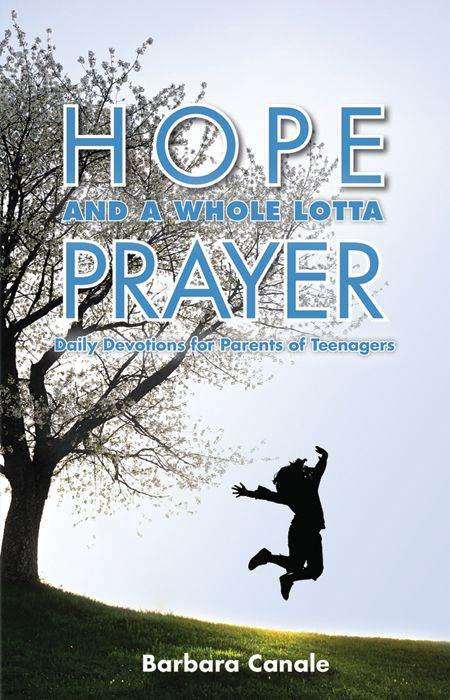 Hope and a Whole Lotta Prayer Daily Devotions For Parents Of Teenagers BARBARA CANALE