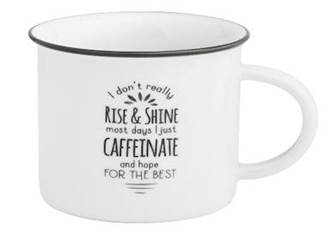 Hope for Best Camp Mug