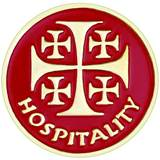 Hospitality Label Pin