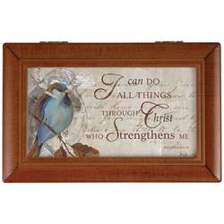 """I Can Do All Things"" Music Box"