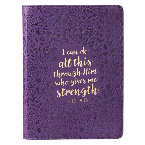 I Can Do All This Purple Journal