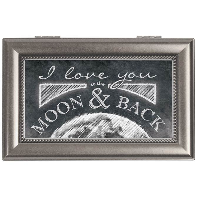 I Love You to the Moon and Back Music Box