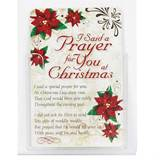 I Said a Prayer for you at Christmas Pocketcard