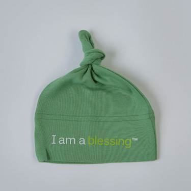 I am a blessing™Hat cmas15n, baby gear, hat, i am a blessing, green hat, st pats day, youth, girl, boy, baby gift, baby shower gift, baptism gift,
