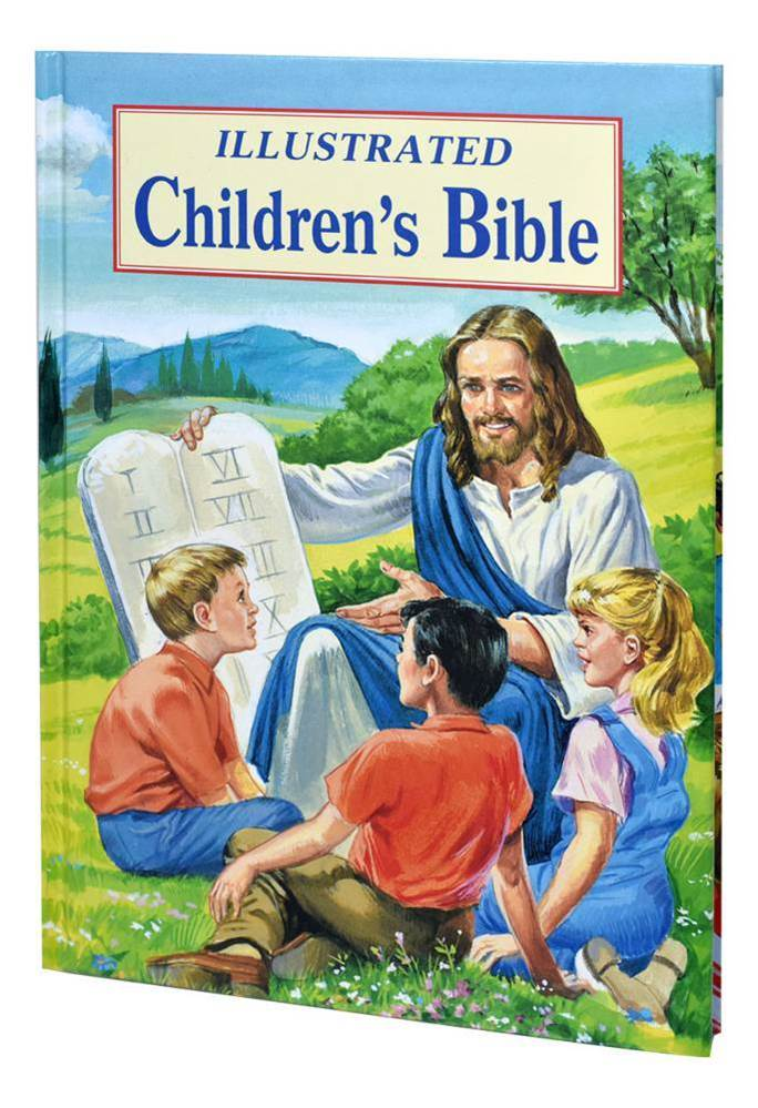 Illustrated Children's Bible Popular Stories From The Old And New Testaments