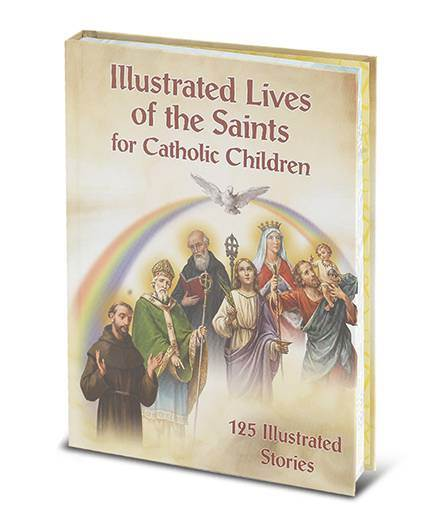 Illustrated Lives Of Saints for Catholic Children