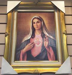 Immaculate Heart Of Mary Framed Picture