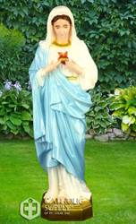 "Immaculate Heart of Mary 24"" Statue, Colored"