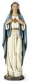 "Immaculate Heart of Mary 10"" Statue *AVAILABLE FALL; ADVANCE ORDERS ACCEPTED NOW*"