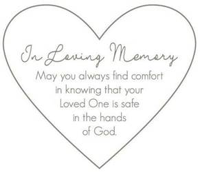 In Loving Memory Comfort Blanket