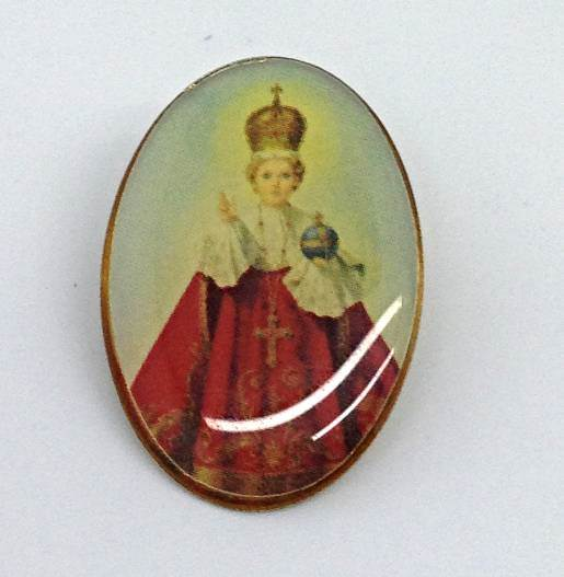 Infant of Prague Lapel Pin/25 PK